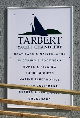 Tarbert Yacht Chandlery © Mid-Argyll & Kintyre News 2011