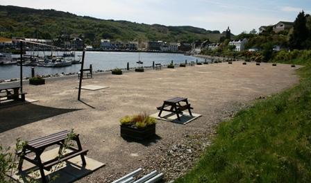 Former Dickie's Boatyard site, Tarbert Loch Fyne