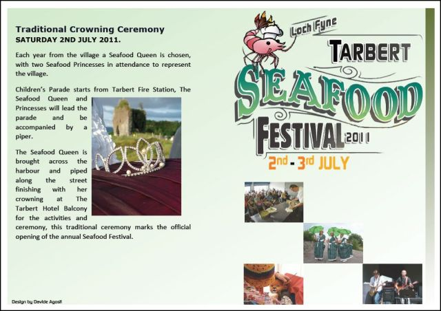 Programme (Tarbert Seafood Festival 2011) (1)