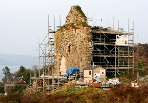 Works, Tarbert Castle, 18.4.11
