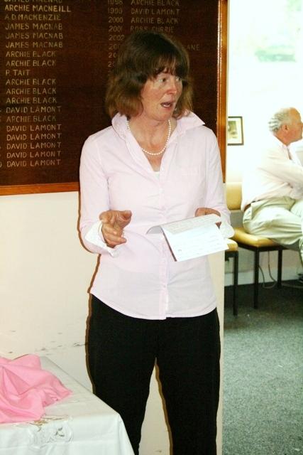 Tarbert's Lady Captain Rona Young