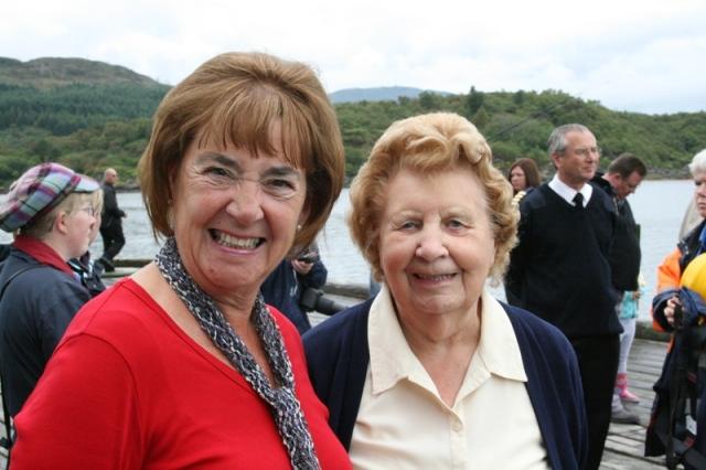 Joan Smart (left) and Phyllis Marsh