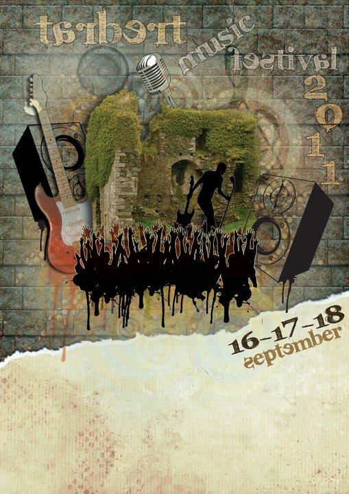 Tarbert Music Festival 2011 poster v.1.0