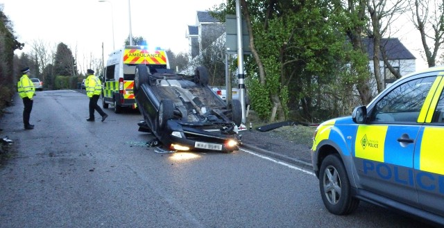 Road Crash, A83, Barmore Rd., Tarbert, 6 Feb 2012