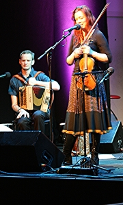 Kathryn Tickell, Celtic Connections, Glasgow, February 2012