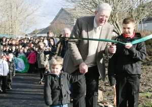 Argyll & Bute MSP Mike Russell declares the new path open